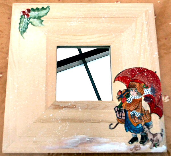 Monique objetb06 miroir fille parapluie for Miroir fille